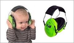 Hörselkåpor för barn och baby