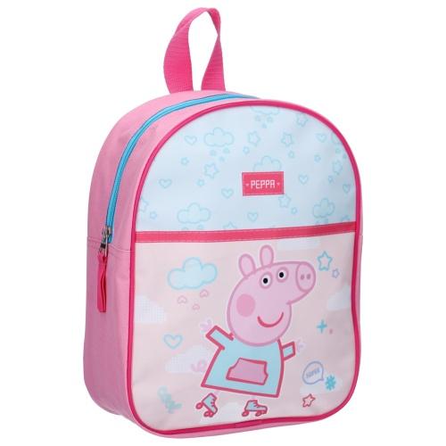 Ryggsäck barn Peppa Pig rosa
