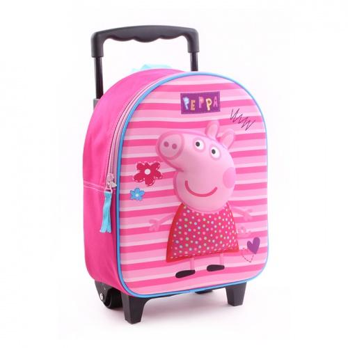 Resväska barn Peppa Pig rosa