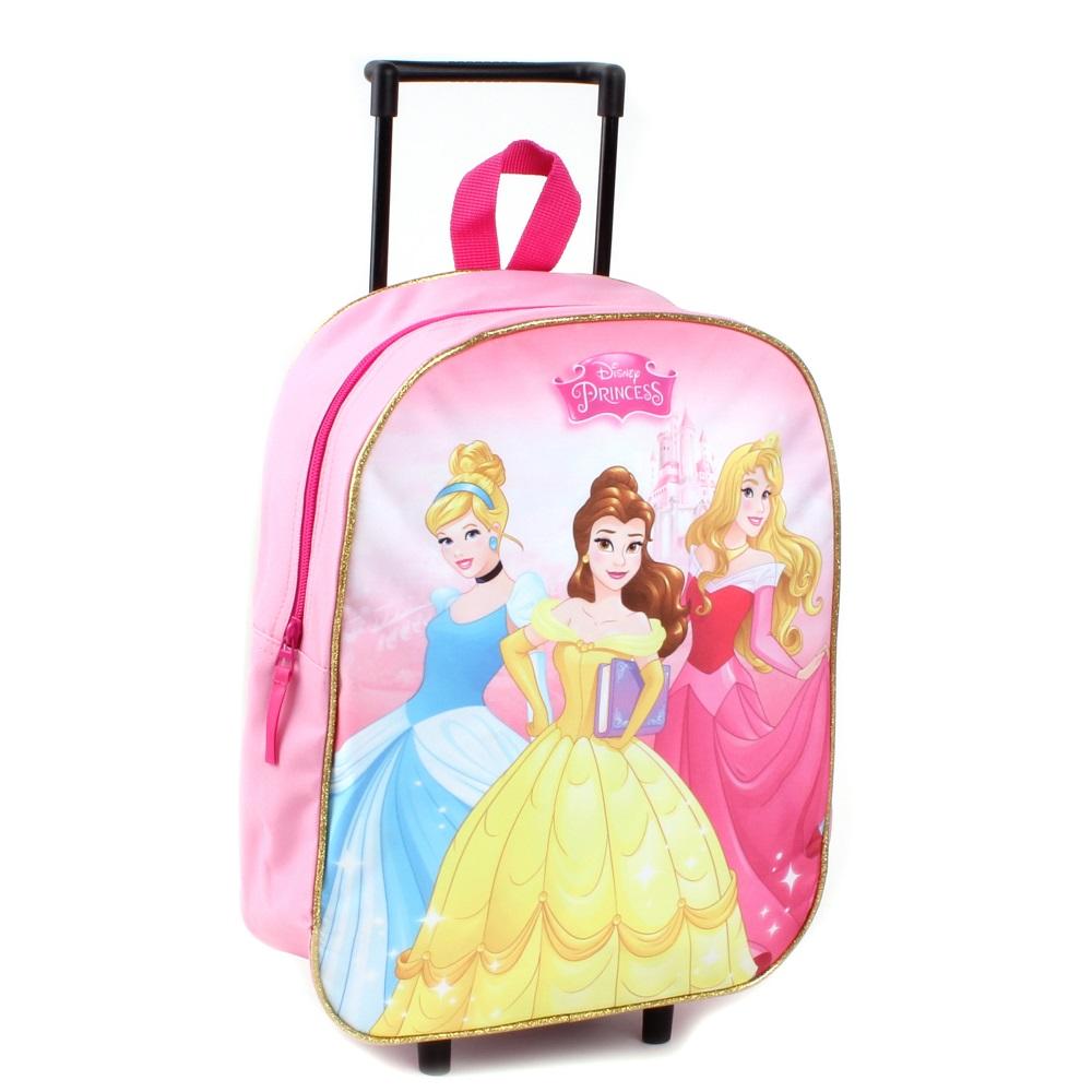 Resväska barn Disney princessor rosa