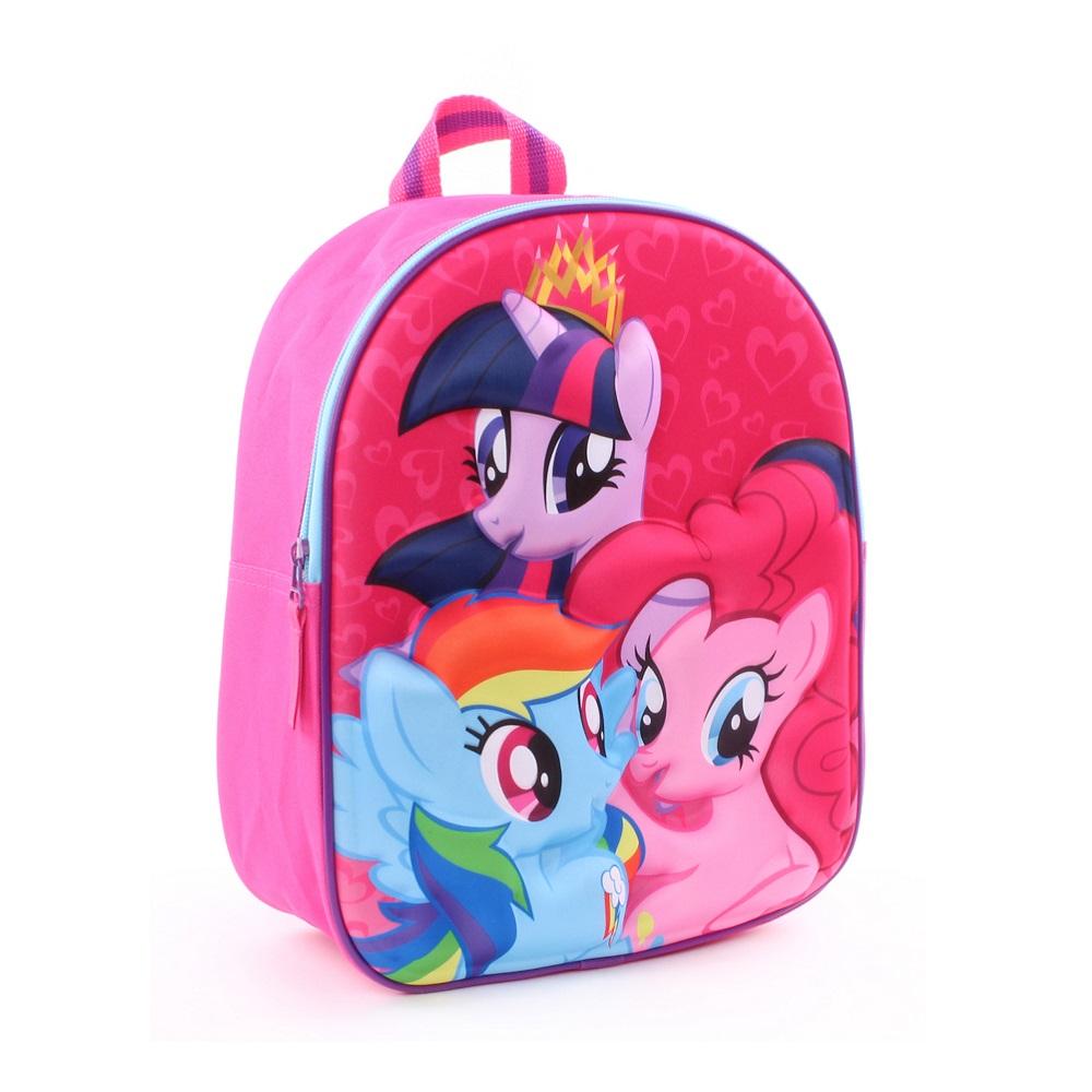 Ryggsäck barn My Little Pony rosa 3D
