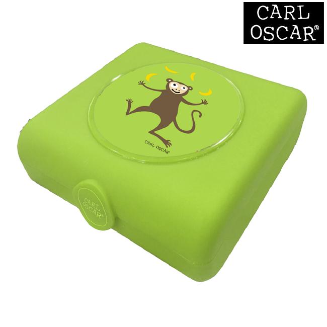 Sandwichbox Carl Oscar Lime Monkey
