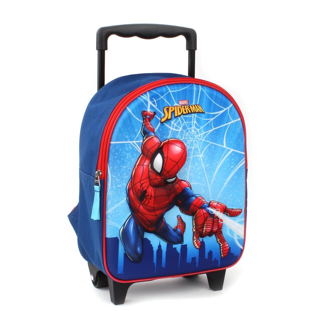 Resväska barn Spiderman 3D