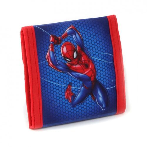 Plånbok barn Spiderman blå och röd