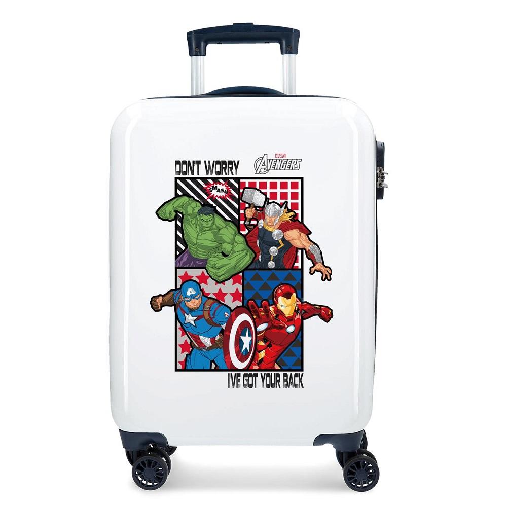 Resväska barn Avengers vit