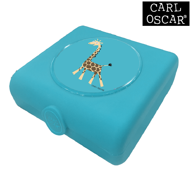 Sandwichbox Carl Oscar Blue Giraffe