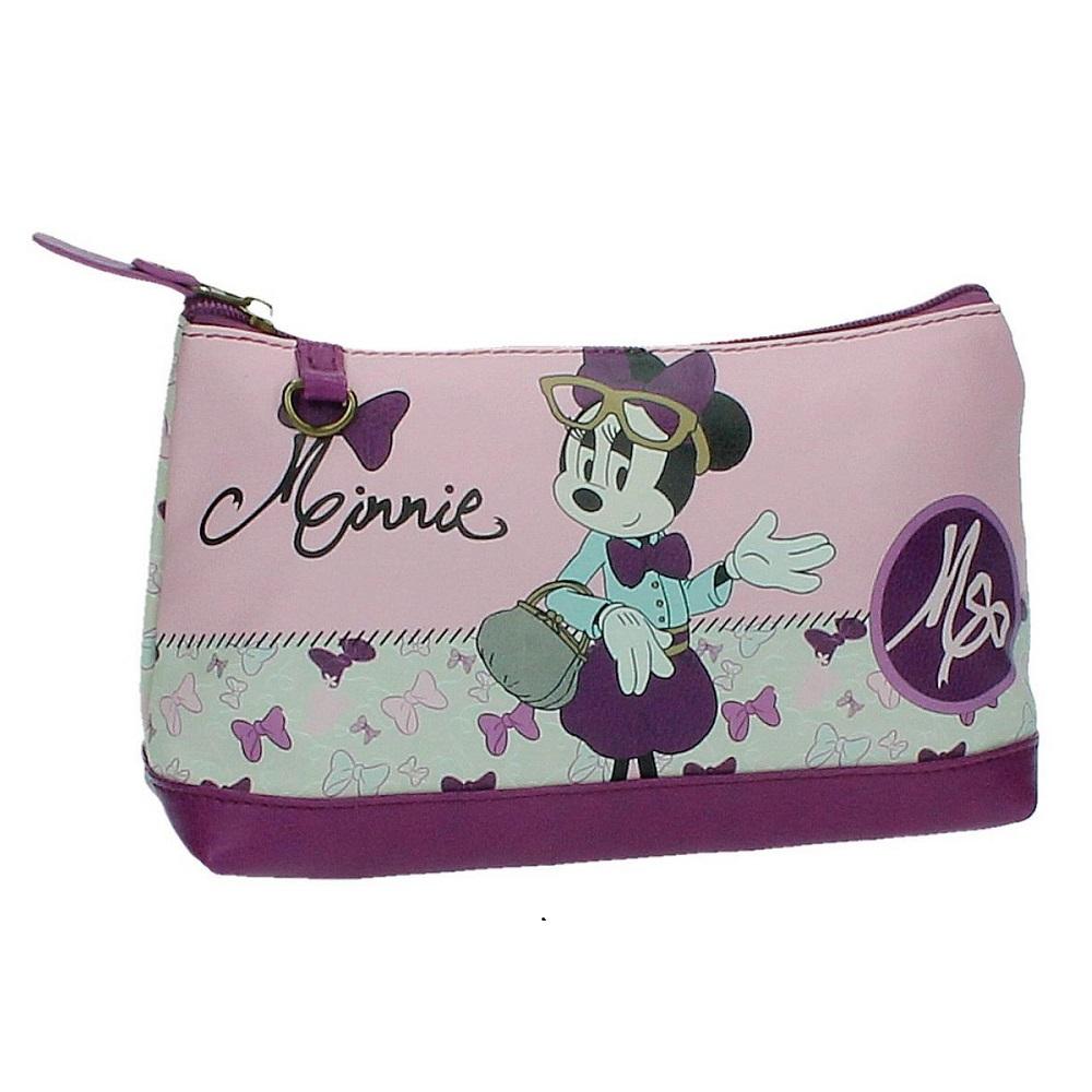 Necessär barn Minnie Mouse rosa och lila
