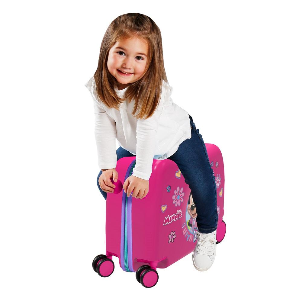 Resväska att åka på Joumma Bags Minnie Mouse rosa