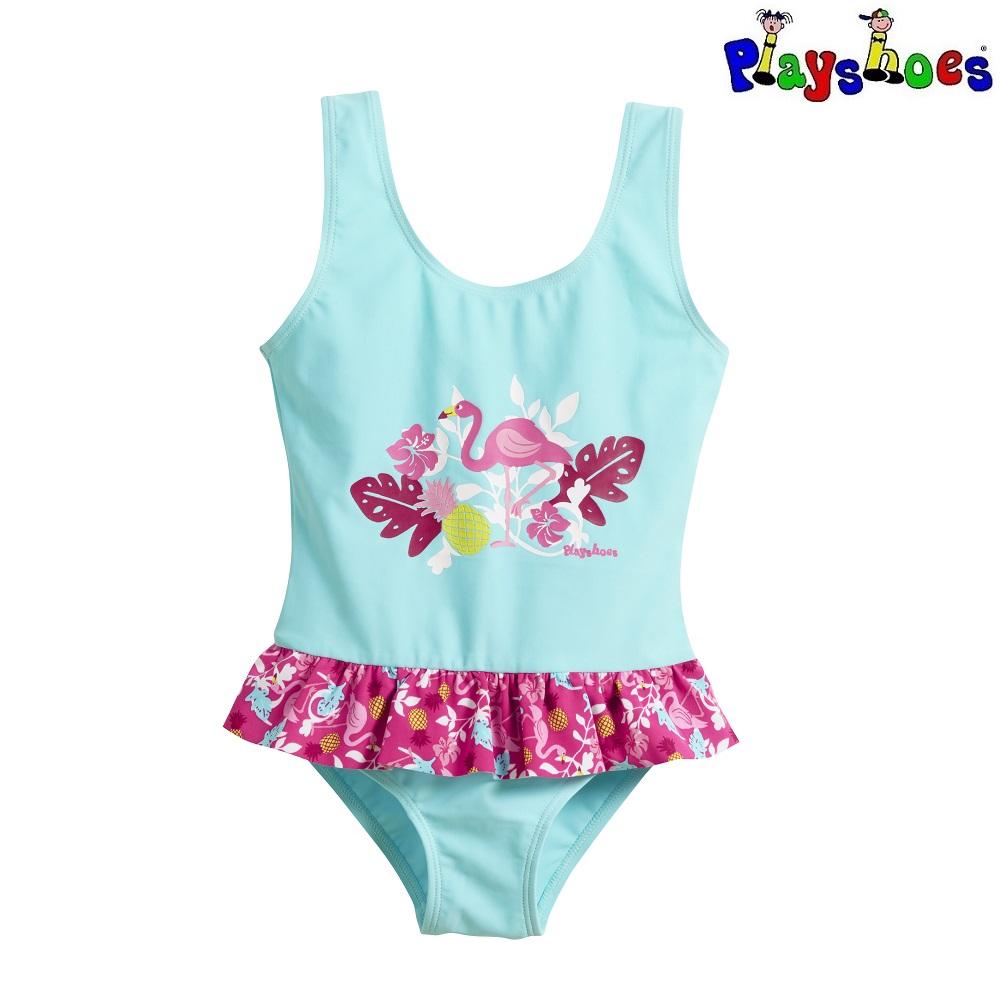 Baddräkt barn Playshoes Flamingo