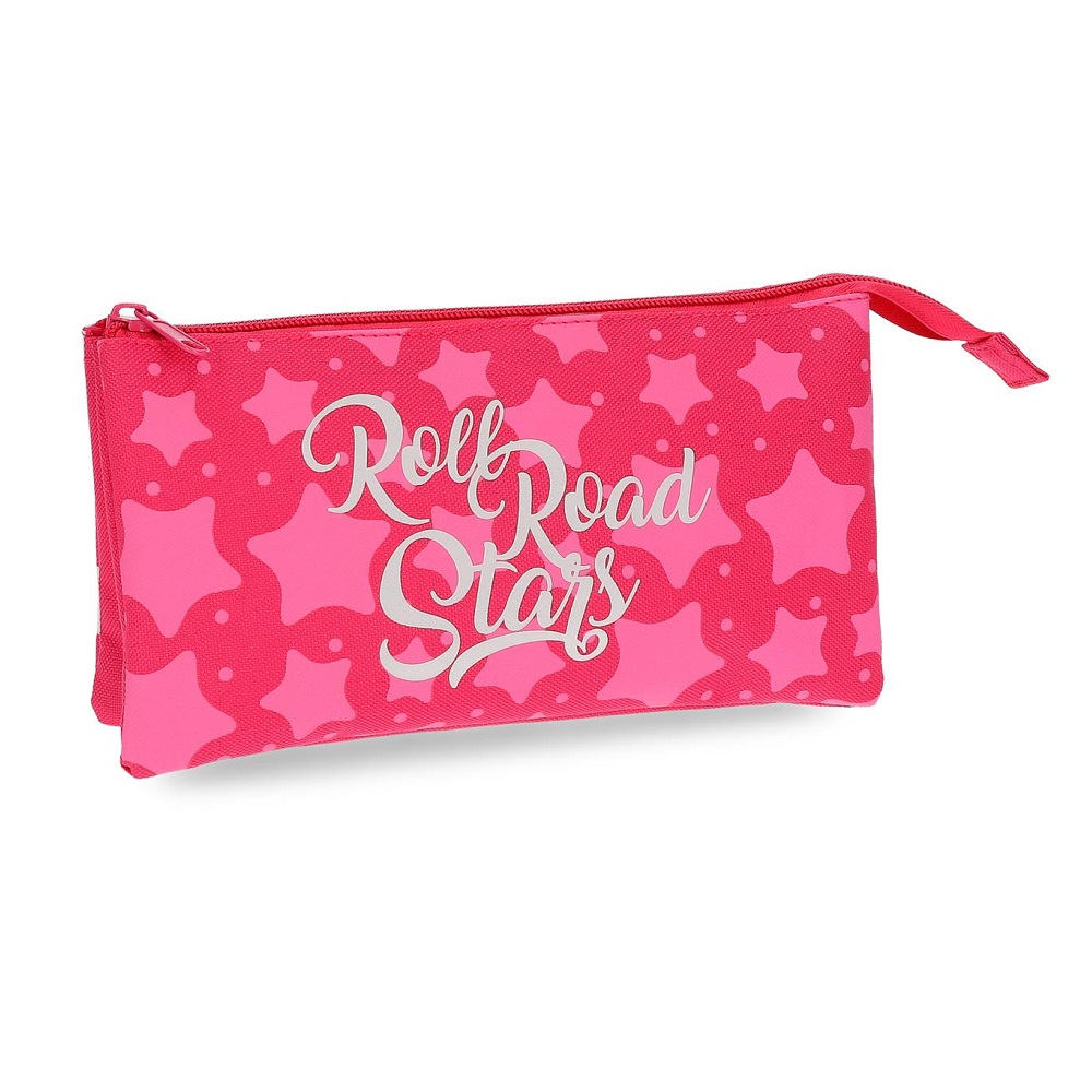 Necessär barn Roll Road Stars rosa