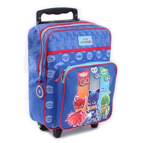 Resväska barn PJ Masks blå
