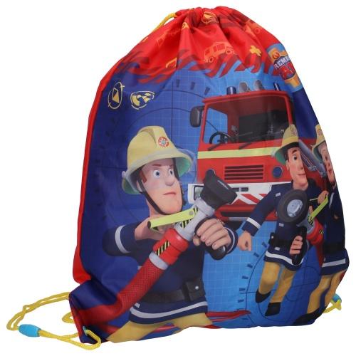 Gympapåse Brandman Sam röd och blå
