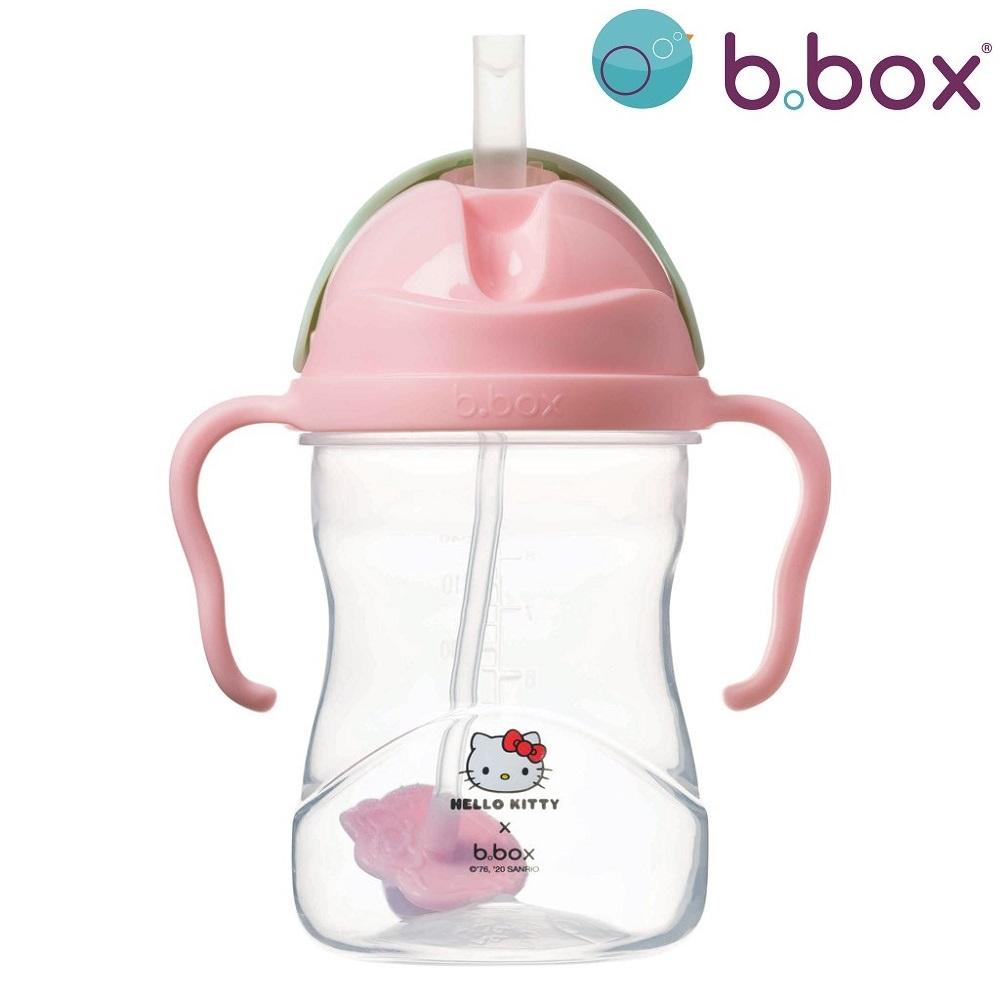 Sugrörsmugg B.box Sippy Cup Hello Kitty rosa