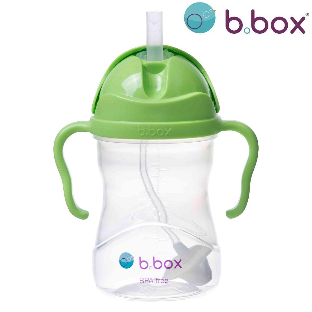 Sugrörsmugg B.box Sippy Cup Apple grön