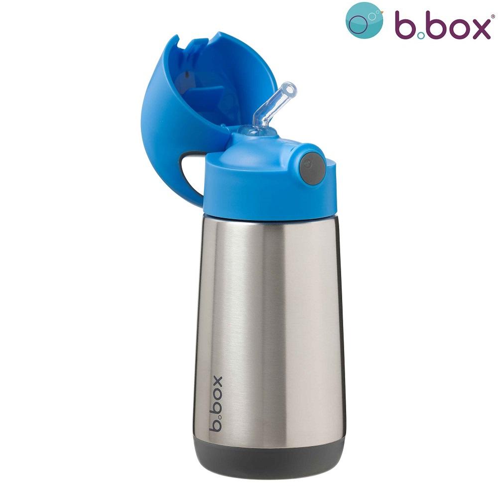 B.box rostfri termosflaska - Blue Slate
