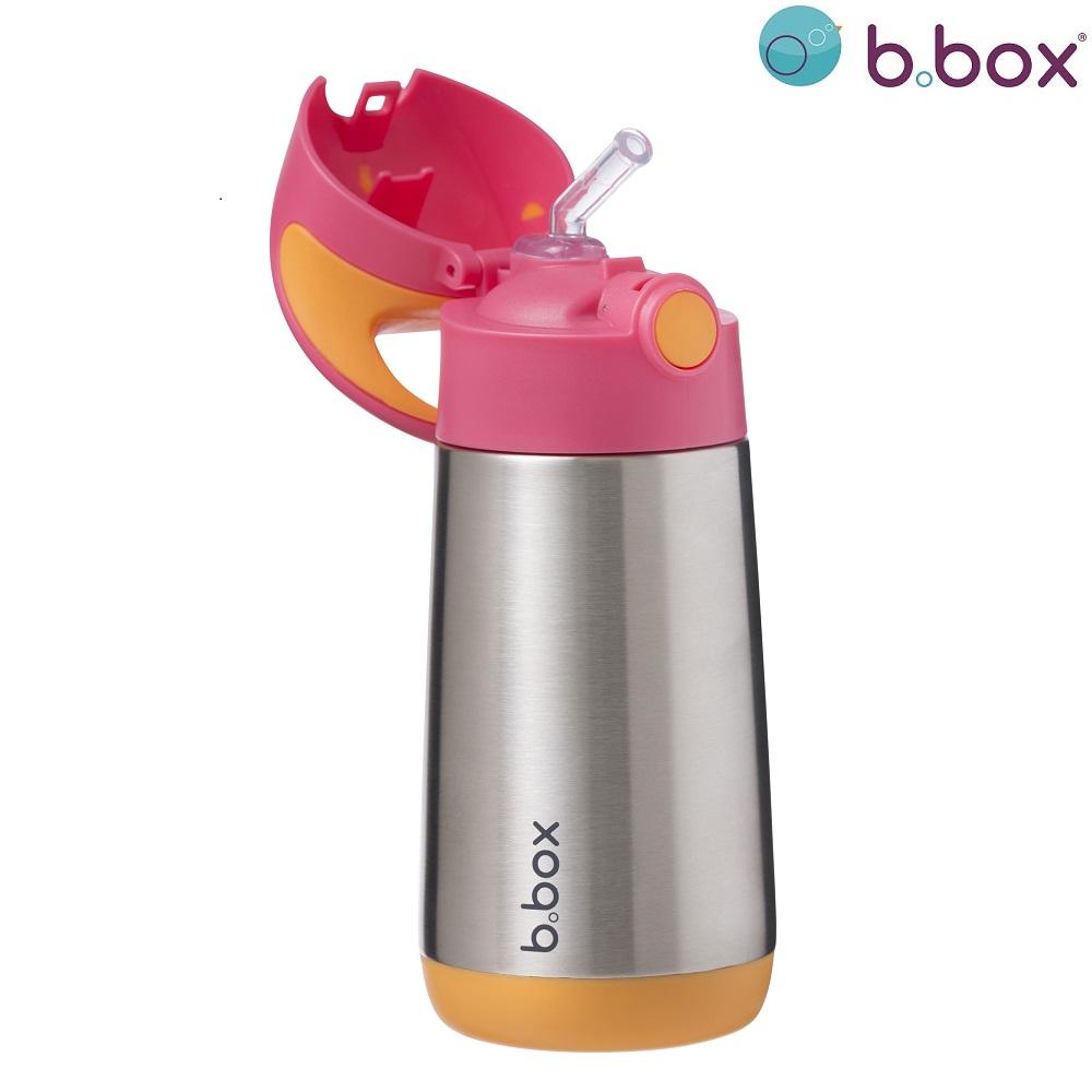 B.box rostfri termosflaska - Strawberry Shake