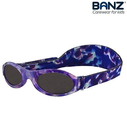 Solglasögon bebis BabyBanz Purple Tortoise