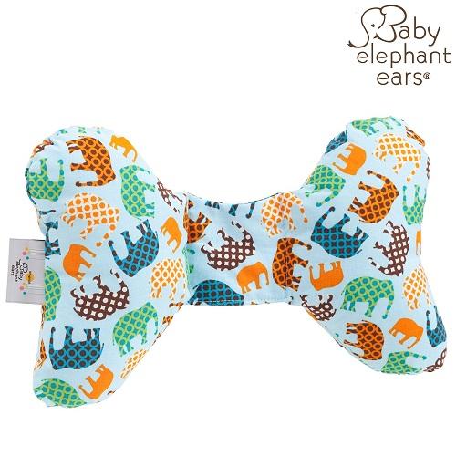 Nackkudde bebis Baby Elephant Ears Blue Elephant