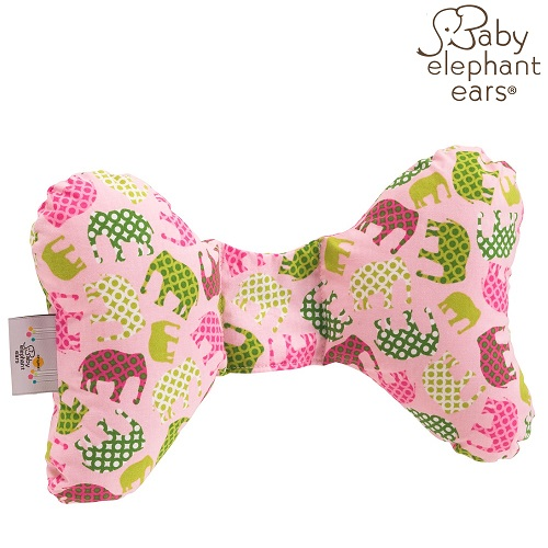 Nackkudde bebis Baby Elephant Ears Pink Elephant