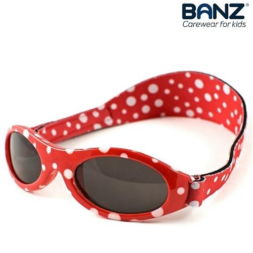 Solglasögon bebis BabyBanz Red Dots
