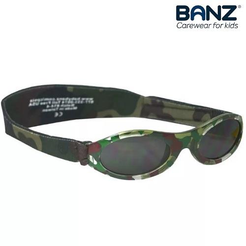 Solglasögon bebis BabyBanz Green Camo