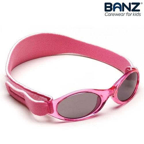 Solglasögon bebis BabyBanz Pink