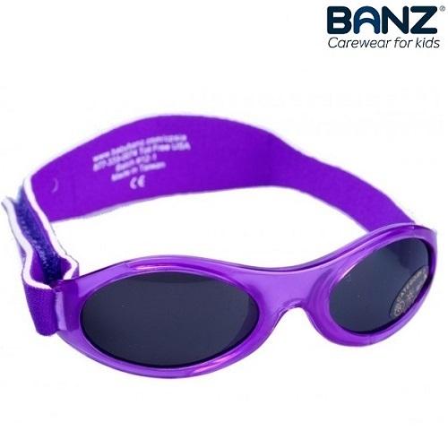 Solglasögon bebis BabyBanz Purple