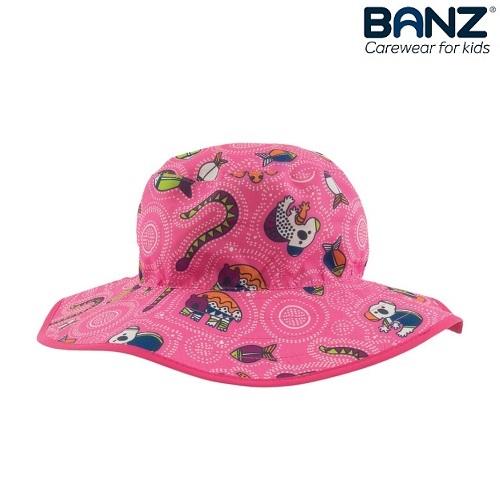 Solhatt barn BabyBanz rosa