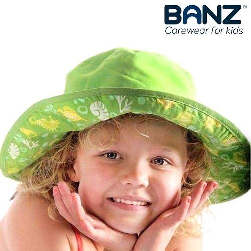 Solhatt barn BabyBanz Green