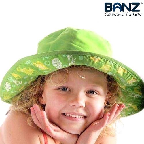 Solhatt barn BabyBanz grön