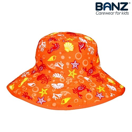 Solhatt barn BabyBanz orange