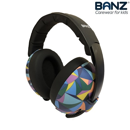 Hörselkåpor baby Banz Bubzee Kaleidoscope