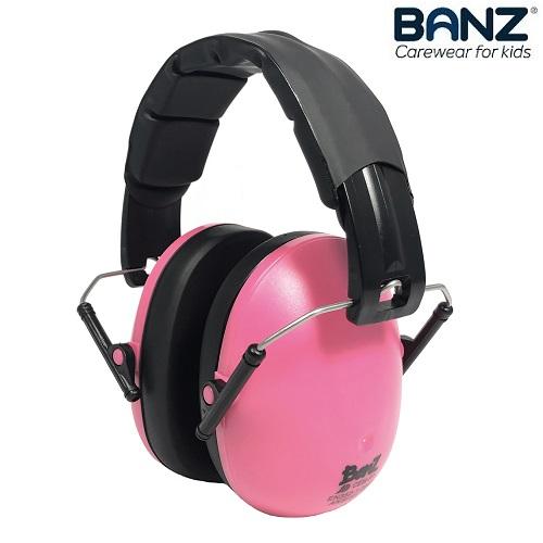 Hörselkåpor barn Banz Kidz Rosa