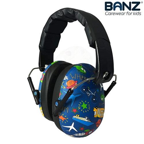 Hörselkåpor för barn Banz Transport