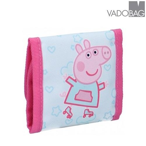 Plånbok barn Peppa Pig rosa