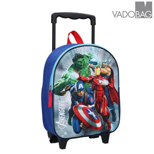 Resväska barn Avengers framsida i 3D