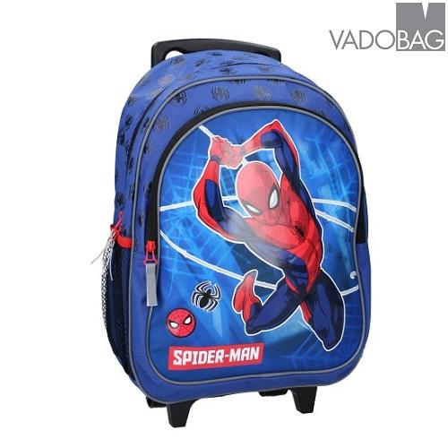 Resväska barn Spiderman Hero in Action Blå och röd