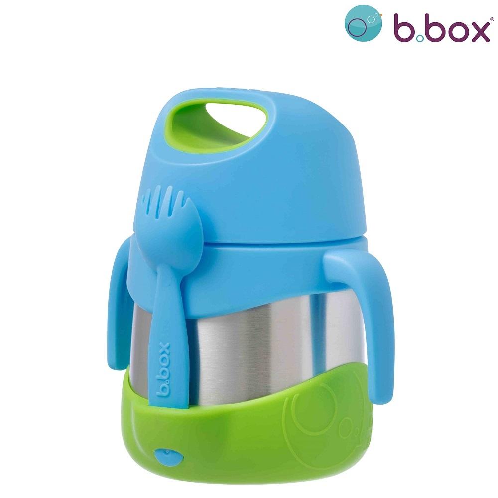 Mattermos med sked B.box Insulated Food Jar Ocean Breeze