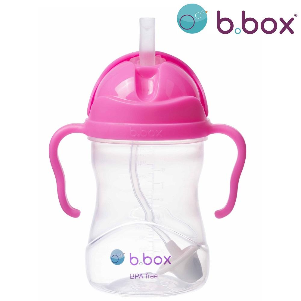 Pipmugg B.box Sippy Cup Pink Pomegranade