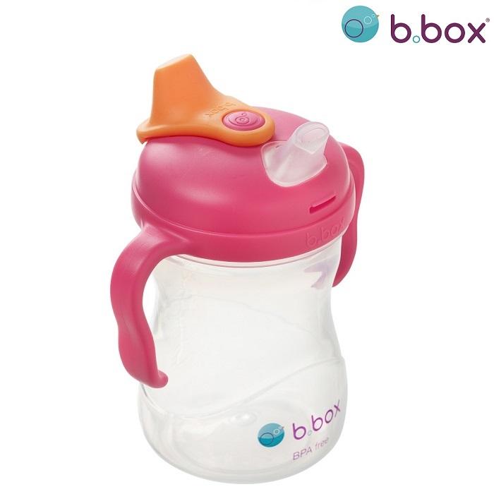 Pipmugg B.box Spout Cup Rasberry rosa