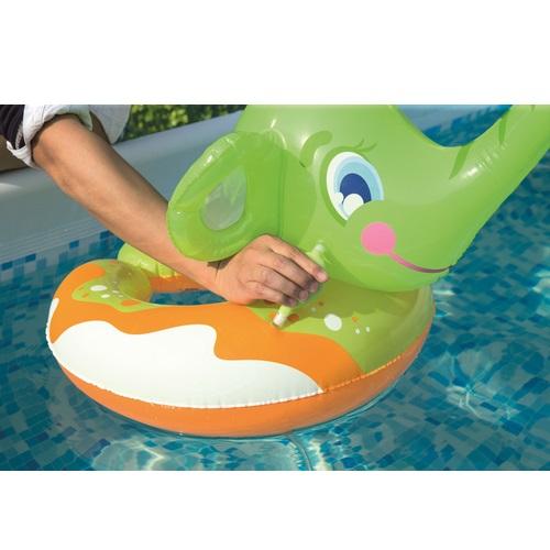 Baddjur Bestway grön elefant
