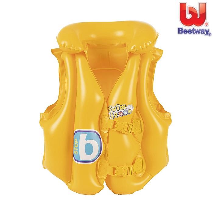 Simväst för barn Bestway Step B gul