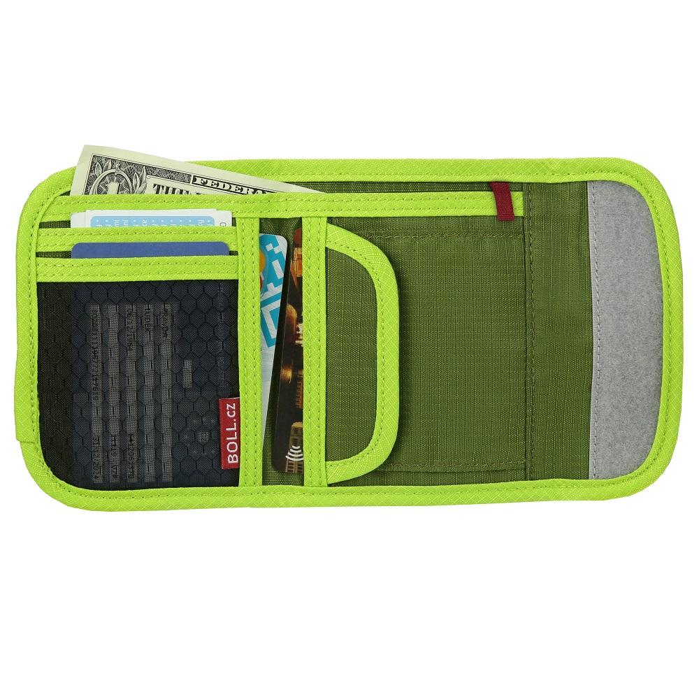 Plånbok barn Boll limegrön