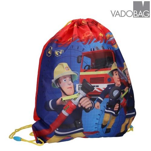 Gympapåse Brandman Sam blå och röd