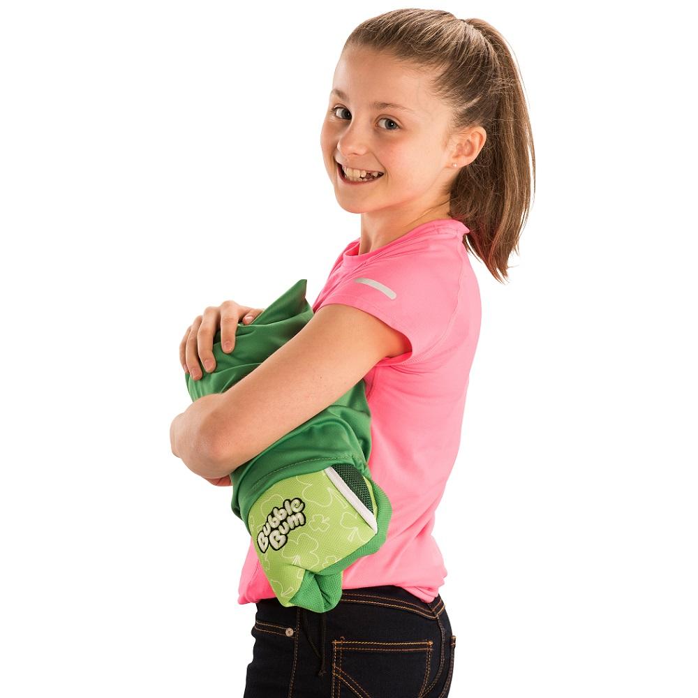Uppblåsbar bälteskudde Bubblebum Grön