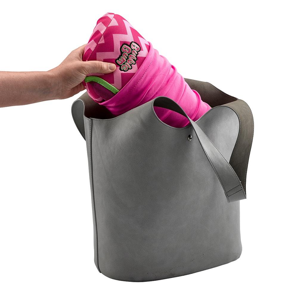 Uppblåsbar bälteskudde Bubblebum Rosa