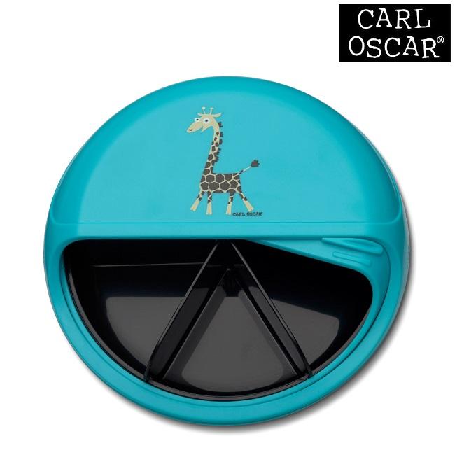 Snacksburk Carl Oscar SnackDISC Blue Giraffe