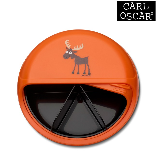 Snacksburk Carl Oscar SnackDISC Orange Moose