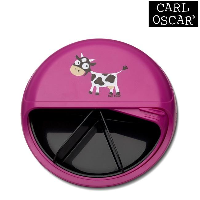 Snacksburk Carl Oscar SnackDISC Pink Cow