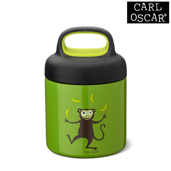 Mattermos barn Carl Oscar Lunchjar Lime Monkey